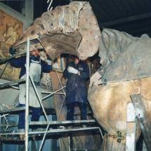Alessandro Fagioli - lavorazione del cavallo 34
