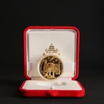 Alessandro Fagioli Medaglia Papa memory scatola rossa 2