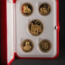 Alessandro Fagioli Medaglia Papa memory scatola rossa 4
